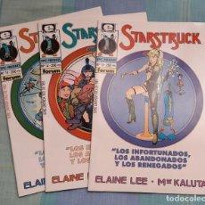 Cómics: STARSTRUCK.SERIE LIMITADA 3 NUMEROS.EPIC PRESENTS.KALUTA/ELAINE LEE.. Lote 64999819