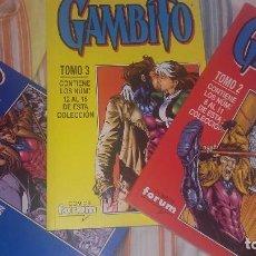 Cómics: GAMBITO VOL 1 COMPLETA EN TRES TOMOS RETAPADOS 16 NÚMEROS. Lote 79951693