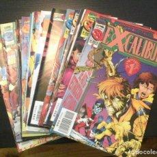 Cómics: EXCALIBUR VOLUMEN II - CASI COMPLETA FALTANDO LOS NÚMEROS 2 Y 3. Lote 65444498