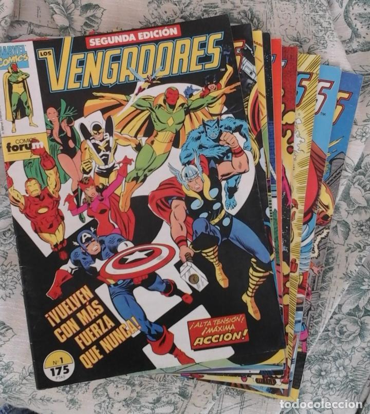 VENGADORES 3 4 5 6 Y 14 SEGUNDA EDICIÓN - PREGUNTA POR NÚMEROS SUELTOS (Tebeos y Comics - Forum - Vengadores)