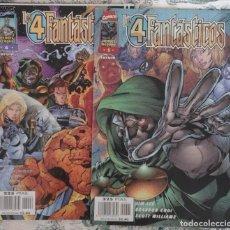 Cómics: LOS 4 FANTASTICOS NºS 1 5 Y 6 - HEROES REBORN. Lote 64524619