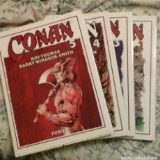 Cómics: CONAN NOVELA GRAFICA Nº 1 3 Y 4 - BARRY WINDSOR SMITH CON EL Nº 5 DE REGALO -. Lote 64519767