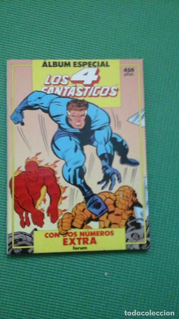 LOS 4 FANTÁSTICOS ÁLBUM ESPECIAL CON DOS NºS ESPECIALES: PRIMAVERA Y VERANO (Tebeos y Comics - Forum - 4 Fantásticos)
