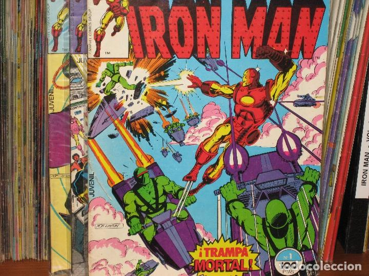 IRON MAN - 58 NÚMEROS - VOLUMEN 1 - COMPLETA - FORUM (Tebeos y Comics - Forum - Iron Man)