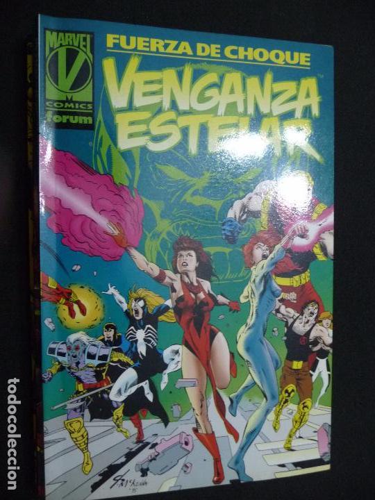 FUERZA DE CHOQUE. VENGANZA ESTELAR. TOMO FORUM (Tebeos y Comics - Forum - Prestiges y Tomos)