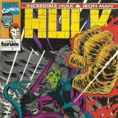 Cómics: INCREIBLE HULK & IRON MAN Nº 7 - MARVEL FORUM. Lote 66072418