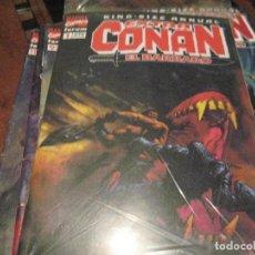 Cómics: CONAN EL BARBARO - EXTRA KING-SIZE ANNUAL - COMPLETA 11 NÚMEROS - FORUM. Lote 66164270