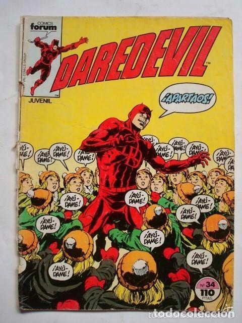DAREDEVIL VOL.1 Nº 34 - FORUM (MARVEL) (Tebeos y Comics - Forum - Daredevil)