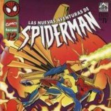 Cómics: LAS NUEVAS AVENTURAS DE SPIDERMAN Nº 12 - FORUM - IMPECABLE. Lote 222632055