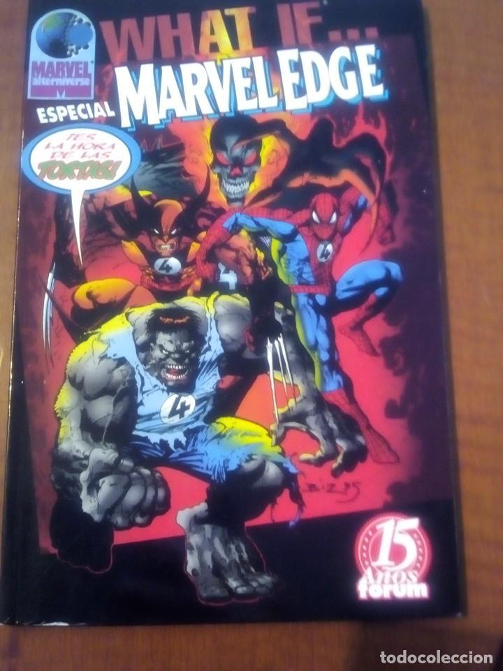 WHAT IF ESPECIAL MARVEL EDGE AÑO 1998 TOMO (Tebeos y Comics - Forum - X-Men)