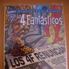 Cómics: BIBLIOTECA MARVEL: LOS 4 FANTASTICOS # 27 (FORUM, 2001). Lote 66765350