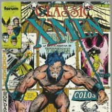 Cómics: X-MEN CLASSIC Nº 17 - MARVEL FORUM. Lote 66771866
