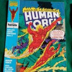 Cómics: HUMAN TORCH Nº 2 SERIE LIMITADA - MARVEL FORUM. Lote 66809798