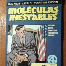 Cómics: ICONOS LOS 4 FANTASTICOS MOLECULAS INESTABLES DE FORUM IMPECABLE. Lote 66870502