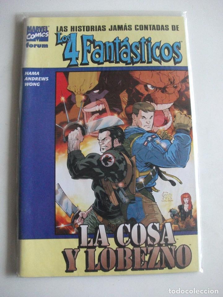 LAS HISTORIAS JAMAS CONTADAS DE LOS 4 FANTASTICOS FORUM C14A (Tebeos y Comics - Forum - 4 Fantásticos)