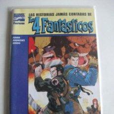 Cómics: LAS HISTORIAS JAMAS CONTADAS DE LOS 4 FANTASTICOS FORUM C14A. Lote 66985250
