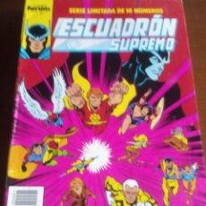 Cómics: ESCUADRON SUPREMO AÑO 1990 COLECCION COMPLETA DE 10 NUMEROS L2P3. Lote 67399169
