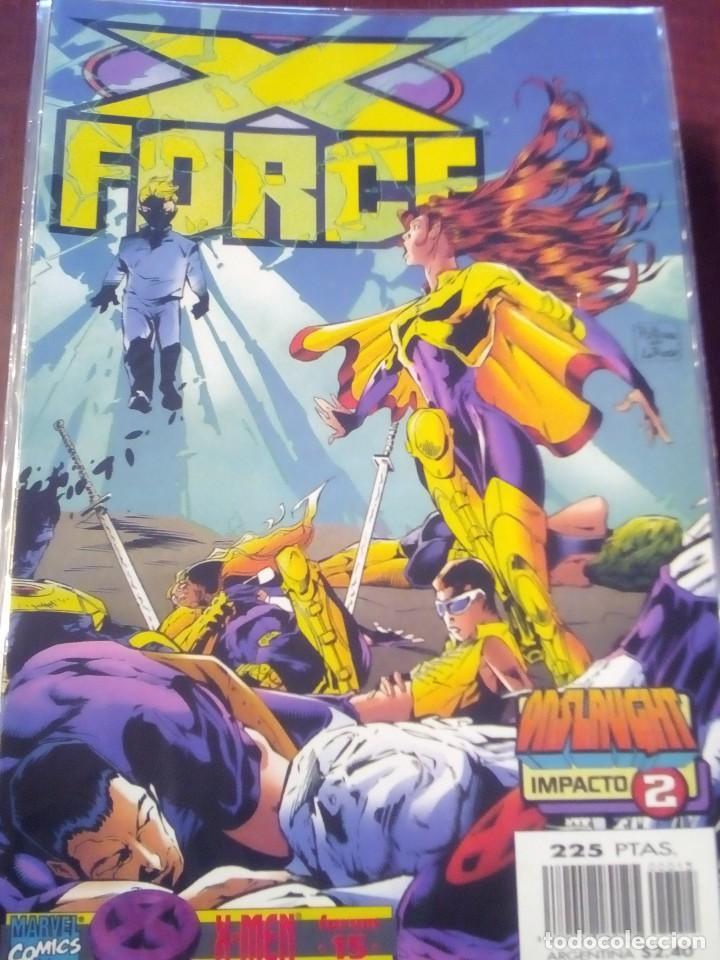 Cómics: X FORCE VOL.2 COLECCION COMPLETA N 1 AL 49 AÑO 1996 L2P5 - Foto 11 - 67400269