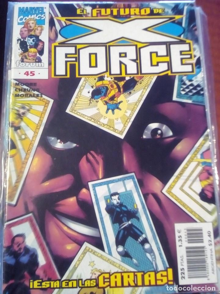Cómics: X FORCE VOL.2 COLECCION COMPLETA N 1 AL 49 AÑO 1996 L2P5 - Foto 20 - 67400269