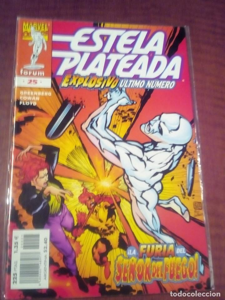 ESTELA PLATEADA N 25 VOL. 3 AÑO 1999 COMO NUEVO L2P5 (Tebeos y Comics - Forum - Silver Surfer)