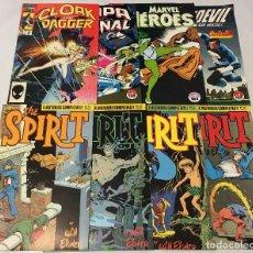 Cómics: NORMA FORUM MARVEL : THE SPIRIT 19 21 23 24 CAPA Y PUÑAL 4 CLOAK AND DAGGER 6 HULKA 37 DAREDEVIL 8. Lote 67593845