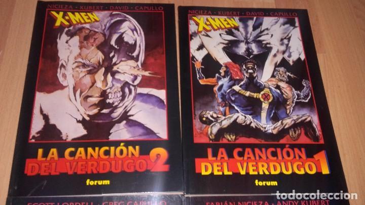 COLECCIÓN OBRAS MAESTRAS VOL I FORUM Nº 20 Y 21 LA CANCIÓN DEL VERDUGO 2 TOMOS - PATRULLA X (Tebeos y Comics - Forum - Prestiges y Tomos)