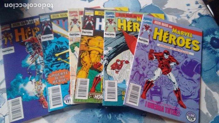 IRON MAN HOMBRE DE HIERRO MARVEL HEROES 54 AL 59 GUERRA DE LAS ARMADURAS(Tebeos y Comics - Forum - Iron Man)