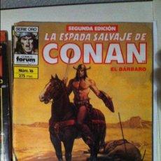 Cómics: LA ESPADA SALVAJE DE CONAN EL BARBARO Nº 16 2ª EDICIÓN. Lote 67676333