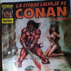 Cómics: LA ESPADA SALVAJE DE CONAN, EL BARBARO Nº114. Lote 67676785