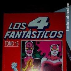 Cómics: LOS 4 FANTASTICOS TOMO 15 RETAPADO FORUM 121 122 123 124 125 126 Y 127. Lote 67892841