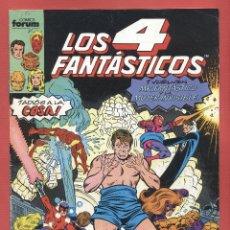 Cómics: LOS 4 FANTASTICOS Nº.93 - LA ILUSION - MR. FANTASTICO Y LA MUJER INVISIBLE EDIT. COMICS FORUM*. Lote 67903817