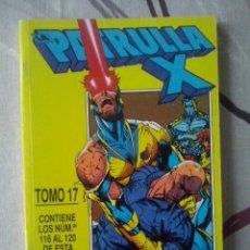 Cómics: FORUM - PATRULLA-X VOL.1 RETAPADO TOMO 17 - NUM. 116-117-118-119-120 - MBE. Lote 146334406