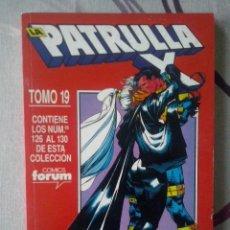 Cómics: FORUM - PATRULLA-X VOL.1 RETAPADO TOMO 19 - NUM. 126-127-128-129-130 - MBE. Lote 68014137
