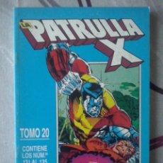 Cómics: FORUM - PATRULLA-X VOL.1 RETAPADO TOMO 20- NUM. 131-132-133-134-135 - MBE. Lote 149802058