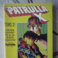 Cómics: FORUM - PATRULLA-X VOL.1 RETAPADO TOMO 21 - NUM.136-137-138-139-140 - MBE. Lote 68014869