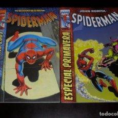 Cómics: SPIDERMAN DE JOHN ROMITA ESPECIAL PRIMAVERA 2001 Y ESPECIAL INVIERNO 2003 - FORUM NUEVOS. Lote 68365617