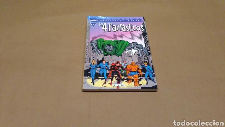 LOS 4 FANTASTICOS 3 BIBLIOTECA MARVEL EXCELSIOR FORUM EXCELENTE (Tebeos y Comics - Forum - 4 Fantásticos)