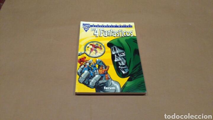 LOS 4 FANTASTICOS 03 BIBLIOTECA MARVEL EXCELSIOR FORUM EXCELENTE (Tebeos y Comics - Forum - 4 Fantásticos)