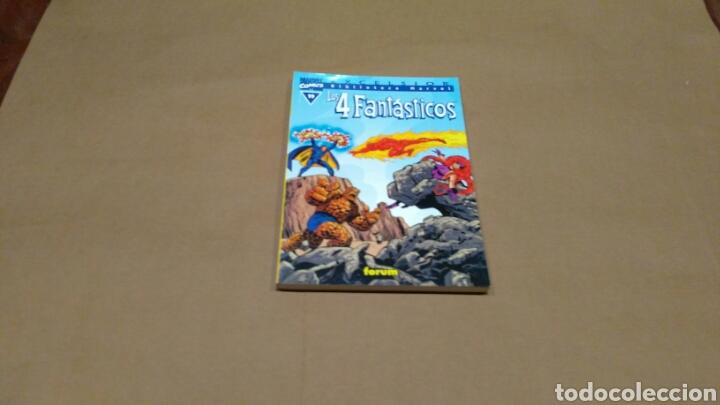 LOS 4 FANTASTICOS 19 BIBLIOTECA MARVEL EXCELSIOR FORUM EXCELENTE (Tebeos y Comics - Forum - 4 Fantásticos)