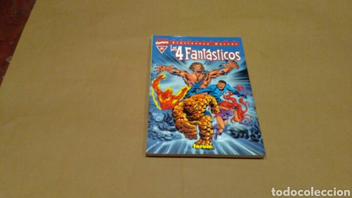 LOS 4 FANTASTICOS 21 BIBLIOTECA MARVEL EXCELSIOR FORUM EXCELENTE (Tebeos y Comics - Forum - 4 Fantásticos)