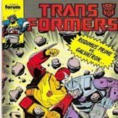 Cómics: TRANSFORMERS Nº 39 - FORUM - IMPECABLE. Lote 68378389