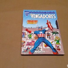 Cómics: VENGADORES 3 BIBLIOTECA MARVEL FORUM PANINI EXCELENTE ESTADO. Lote 68395182