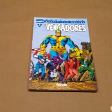 Cómics: VENGADORES 5 BIBLIOTECA MARVEL FORUM PANINI EXCELENTE ESTADO. Lote 68395349