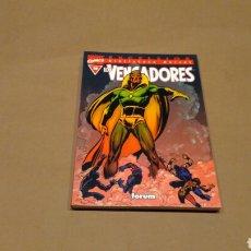 Cómics: VENGADORES 10 BIBLIOTECA MARVEL FORUM PANINI EXCELENTE ESTADO. Lote 68395882