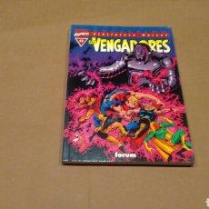 Cómics: VENGADORES 11 BIBLIOTECA MARVEL FORUM PANINI EXCELENTE ESTADO. Lote 68395974