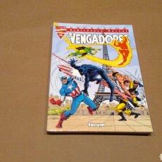 Cómics: VENGADORES 12 BIBLIOTECA MARVEL FORUM PANINI EXCELENTE ESTADO. Lote 68396061