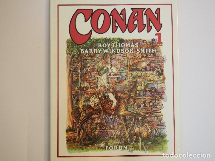 CONAN NOVELA GRAFICA - NÚMERO 1 - ROY THOMAS / BARRY WINDSOR-SMITH (Tebeos y Comics - Forum - Conan)