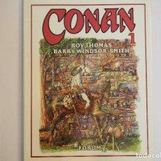 Cómics: CONAN NOVELA GRAFICA - NÚMERO 1 - ROY THOMAS / BARRY WINDSOR-SMITH. Lote 68601965