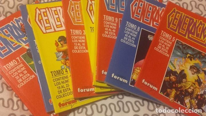 GENERACIÓN X VOL 2 FORUM COMPLETA 49 NºS EN 9 RETAPADOS (Tebeos y Comics - Forum - Retapados)