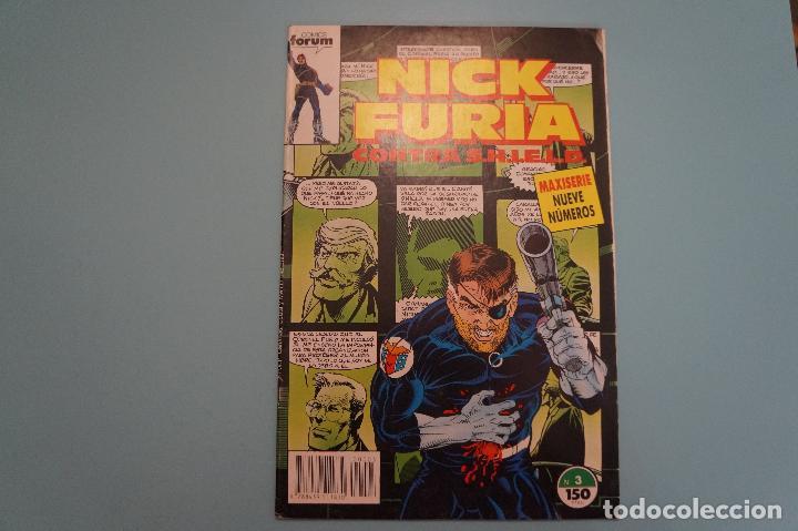COMIC DE NICK FURIA CONTRA SHIELD AÑO 1989 Nº 3 DE COMICS FORUM LOTE 5 D (Tebeos y Comics - Forum - Furia)